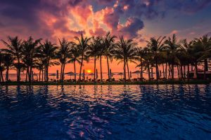 Sunset over Phu Quoc Island by hessbeck-fotografix