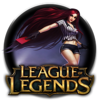 Red Card Katarina Icon by DudekPRO