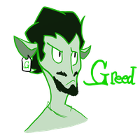 Greed by CancerousVirgo