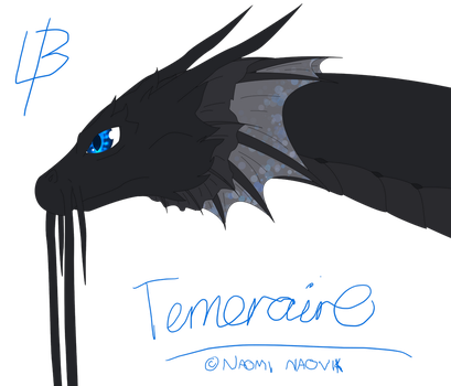 Fan Art - Temeraire doodle by LadyBrightcynder