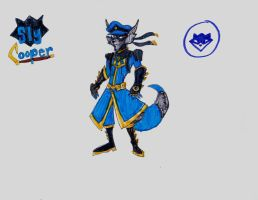Sly Cooper Redesign by AlphaOmegaBros