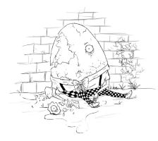 Humpty Dumpty had a great fall. by LoonyBuffoon