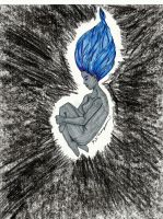 A Spark of Blue by Sharpie-luver12