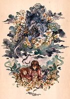 Wolf Children by cryptosilver