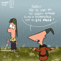 PnF - Phineas Eyes by ArtistShigeru