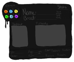 D0GF1GHT Character App. Form by spicydoq