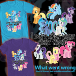MLP FIM: WhatWent Wrong tees welovefine by hinoraito