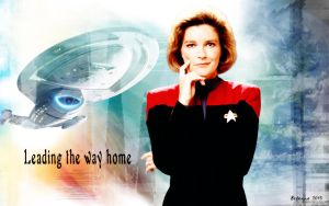 Janeway: Leading the way by Belanna42