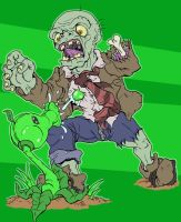 Plants Versus Zombies by Cannibal-Cartoonist