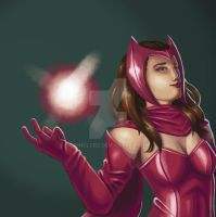 Scarlet Witch by jhndlcrz