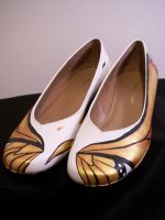 Monarch Fancy Shoes 1 by KimsButterflyGarden
