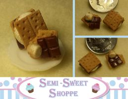 S'mores Earrings by ninja2of8