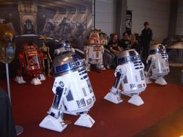 Family of Star wars robots by Sam-wyat