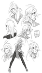 Noize Character Sketches by Vol-chan