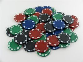 Stock - Poker Chip Series 6 by mystockphotos