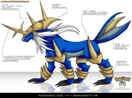 Pokedex 503 - Samurott FR