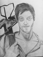 Daryl Dixon (Norman Reedus) by UpcoRaul