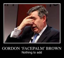 gordon brown by CREAPx