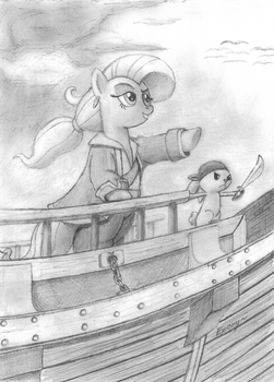 SS Flutter Pirate by EponymouslyEponymous