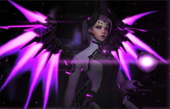 Mercy - Ready for Battle by EvilPowny