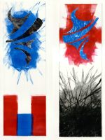 Two Prints Two subjects by JonBeanHastings