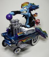 Rainbow Dash Fink Sculpture by devilsreject493