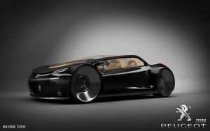 Peugeot Concept Work 'Storm' by bhtyr