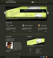 Portfolio-Interface 2 by DRX-Design