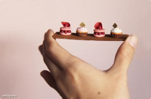 Miniature pastries. by Aiclay