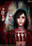 Only Lovers Left Alive_April_calendar2014 by manulys