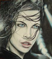 Kate Beckinsale Underworld by JeremyOsborne