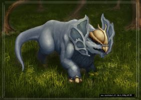 Creature Design Painting (Wild Version) by Archon0419