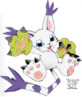Gatomon by angel-in-disguise234