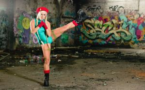 Cammy White - Street Fighter by kittylappincosplay