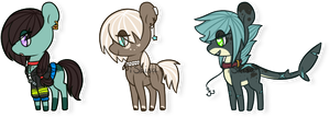 Pony Batch 1 | +CLOSED+ by 14th-Crown