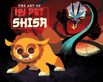 My Pet Shisa Cover Art by spiffychicken