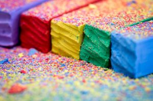 Colorful Chalks by ian-roberts
