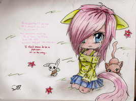 Fluttershy-feelings and thoughts by KittyNinja2009