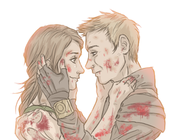 Hansel and Gretel - witch hunters by ASAMESHII