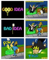 Good Idea Bad Idea 2 by Cartoon-Eric