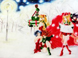 _Santa's little helpers_ by phoenix4ever
