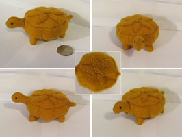 Turtle Plush: Mooncake by Fiomay