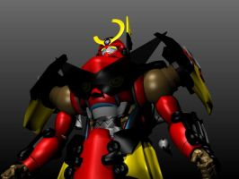 Gurren-lagan WIP 01 by g2mdluffy
