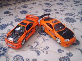 Skyline G-TR and Supra by Street-Racer
