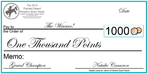 PD Show Weeks GC's Giant Check by painted-cowgirl