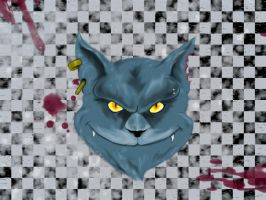 Cheshire cat- Alice madness returns by Shaun Haunt by ShikiCreations