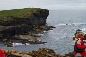 Wild Cliffs on Orkney Islands by mugiwara-kun