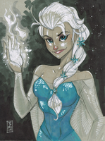 Elsa by Hodges-Art