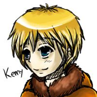 South Park - Kenny by CometTheMicroraptor