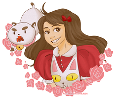 Bee and Puppycat by DoomGirlMeg